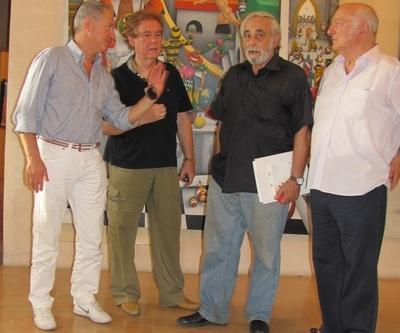 Il pittore Pier Augusto Breccia socio ononario della sezione di Orvieto della Università popolare della Tuscia