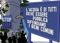 I comitati per l'acqua pubblica rilanciano la campagna per l'autoriduzione delle bollette SII