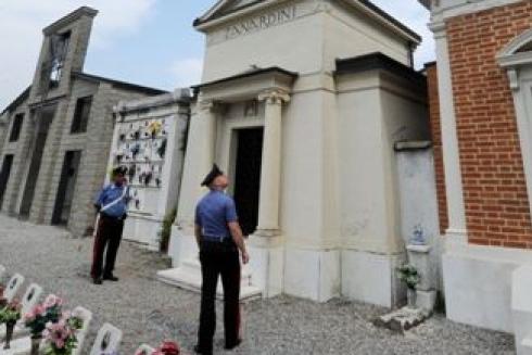 Razzia di rame al cimitero di Allerona