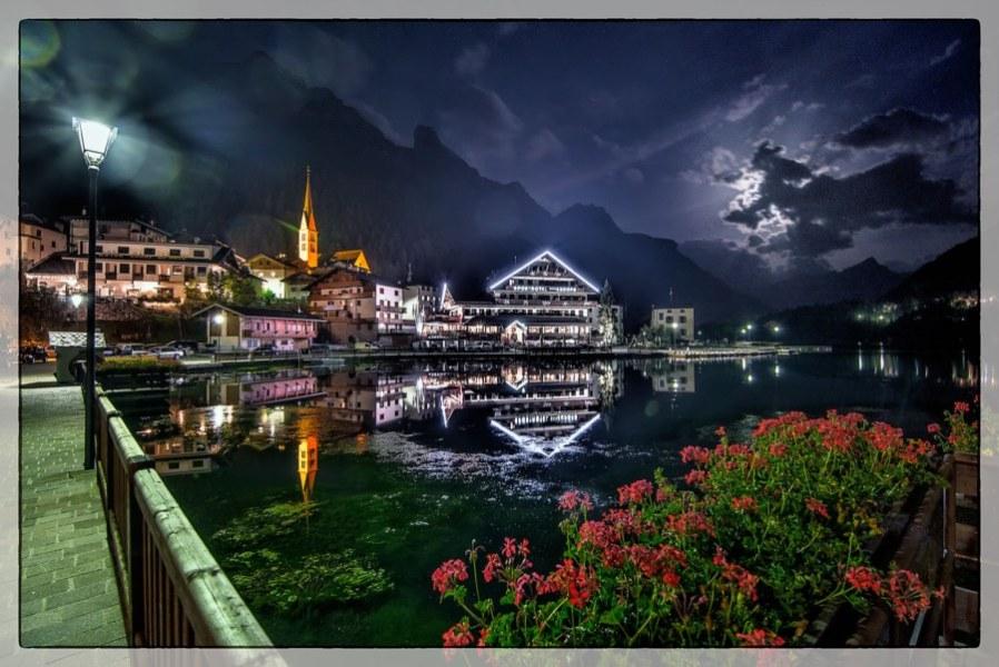 Notturna del Lago di Alleghe