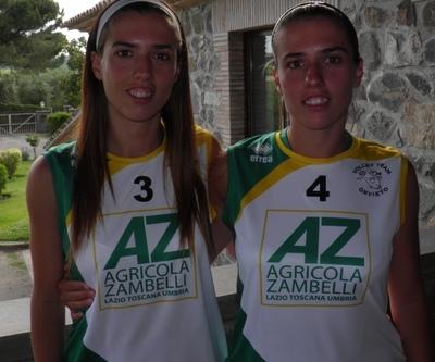 Ilenia ed Eleonora Scarpa sono della Zambelli Orvieto