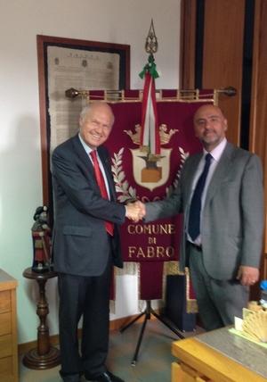 Il Prefetto Bellesini in visita ai Comuni di Allerona e Fabro