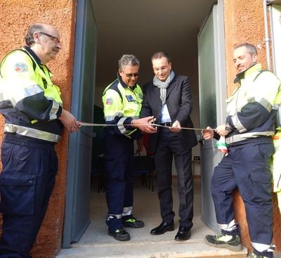 La Protezione Civile di Bolsena inaugura la nuova sede e doma le prime fiamme dell'anno