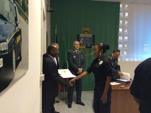 Concluso al Centro addestramento il Corso per la polizia doganale di Haiti