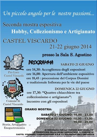 """""""Un piccolo angolo per le nostre passioni"""" a Castel Viscardo"""