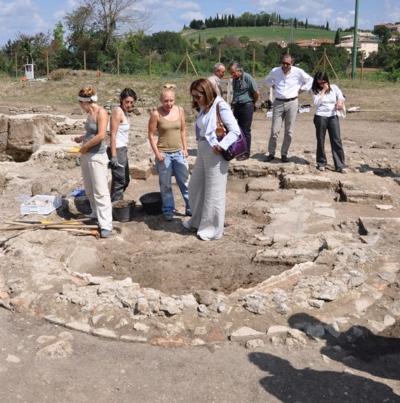 Visita agli scavi del Campo della fiera di Orvieto. Marini: area di straordinaria importanza, va valorizzata