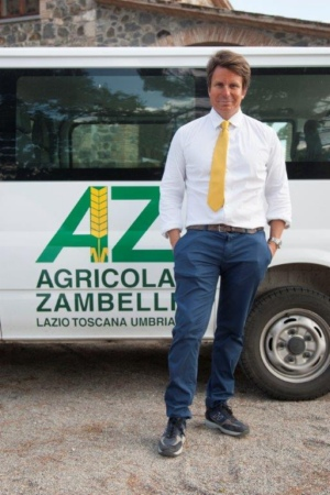 Il presidente Flavio Zambelli. Foto di Filiberto Mariani