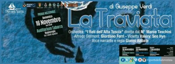 A Bagnoregio La Traviata in prima nazionale