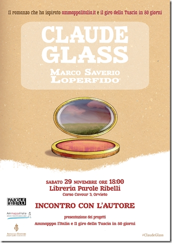 "Marco Saverio Loperfido presenta il suo libro ""Claude Glass"""