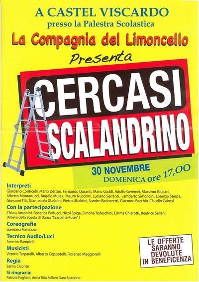 """Cercasi scalandrino"" a Castel Viscardo"