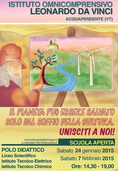 """Presentati i programmi dell'Istituto Omnicomprensivo """"Leonardo da Vinci"""" di Acquapendente"""
