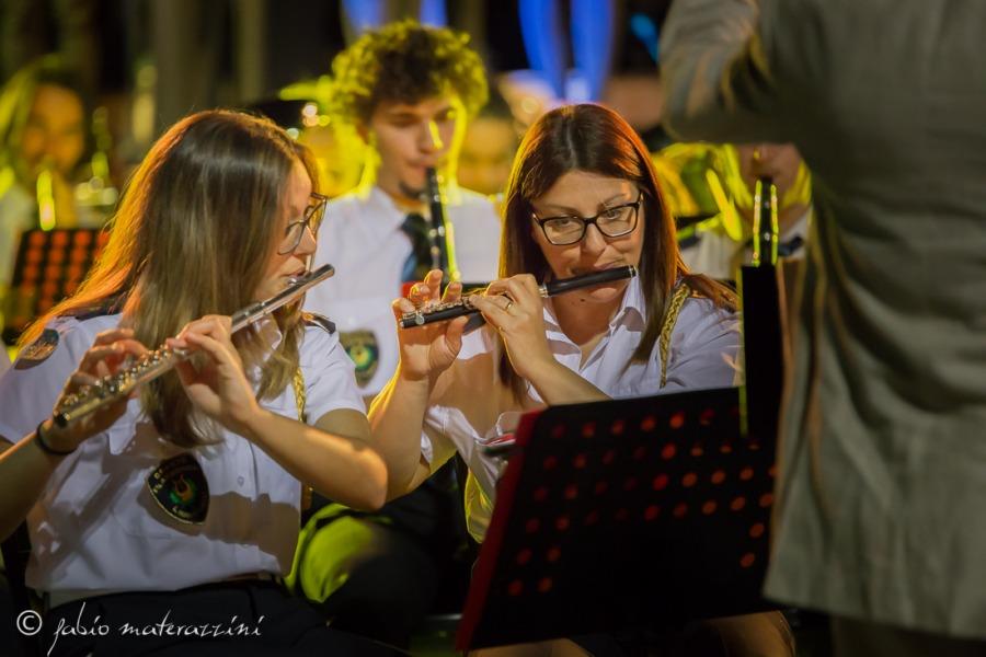 IL concerto della banda musicale di Orvieto