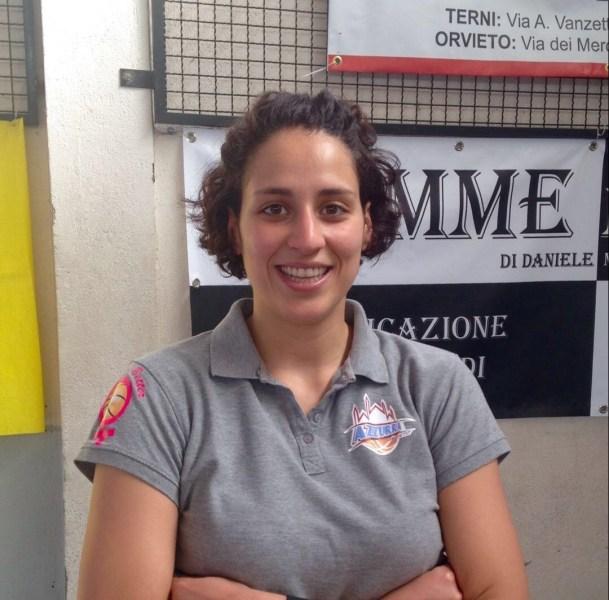 Azzurra Orvieto: è Azzurra Gaglio la nuova preparatrice atletica. Succede a Sunny Massari. Ad majora per entrambi.