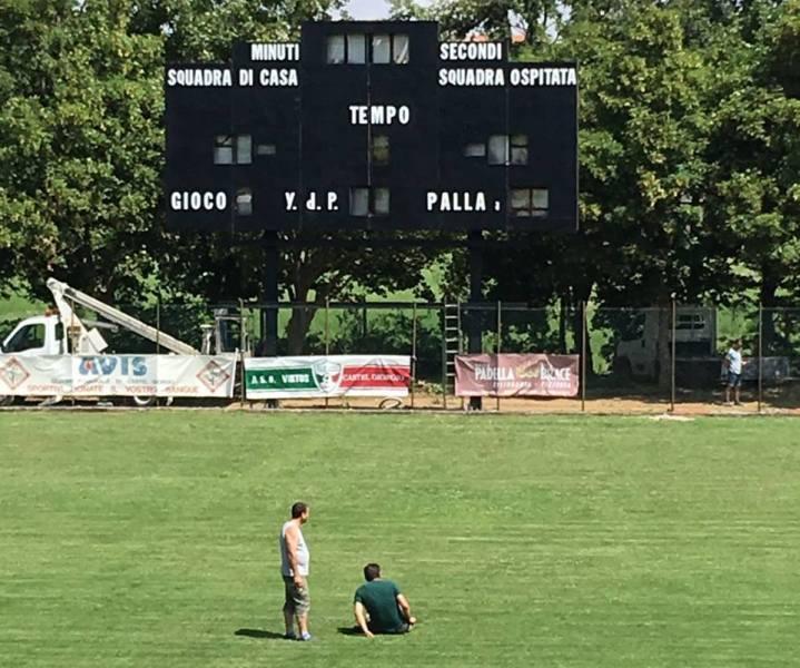 Allo stadio di Castel Giorgio arrivano le vecchie glorie del football americano in Italia
