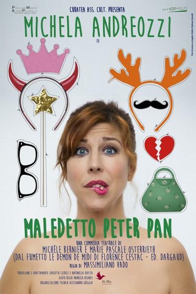 """""""Maledetto Peter Pan"""", al Mancinelli va di scena lo show di Michela Andreozzi"""