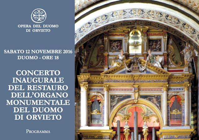 Concerto inaugurale del restauro dell'organo del Duomo, domani alle 18 in DIRETTA STREAMING