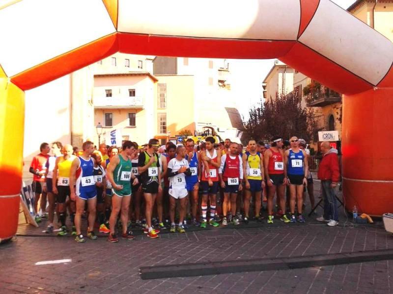 Disco verde per la maratonina di San Martino #6 a Fabro