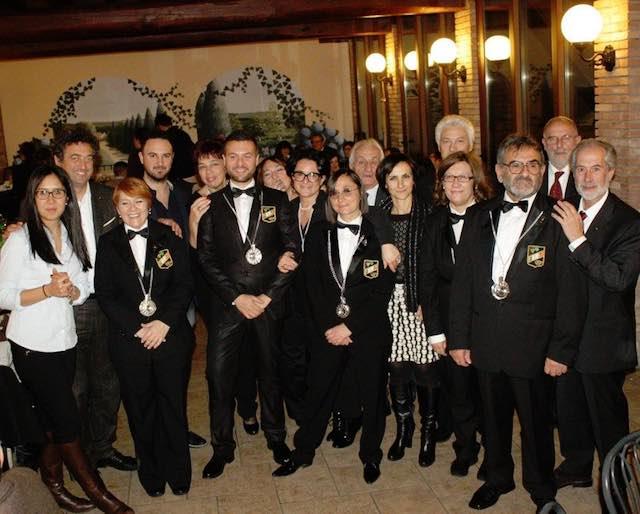 Fisar Orvieto, consegna attestati II livello e cena degli auguri di Natale