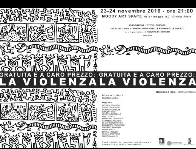 """Gratuita e a caro prezzo: LA VIOLENZA, spettacolo multimediale dei """"Lettori Portatili"""""""