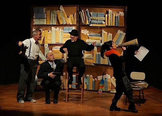 Arriva a Castiglione lo spettacolo Il Presidente, una tragica farsa di Gianni Abbate