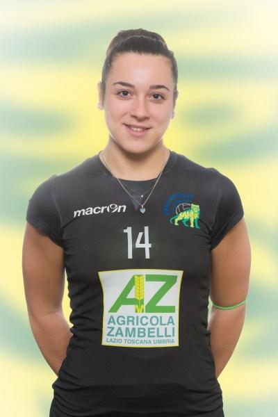 La felicità di Giulia Serafini dopo l'esordio stagionale con la Zambelli Orvieto