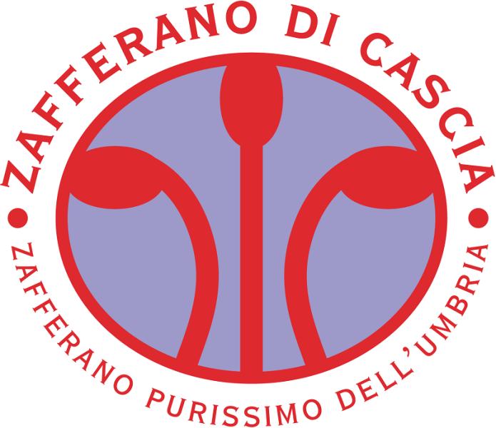 Azzurra Ceprini insieme allo Zafferano di Cascia
