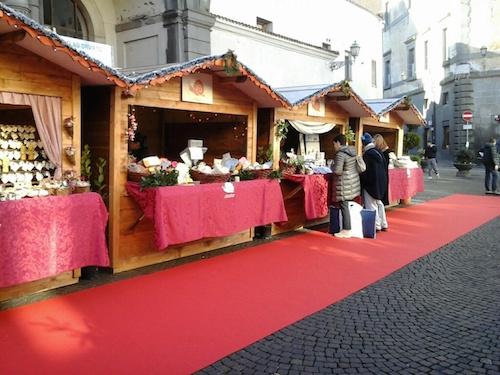Mercatino natalizio delle cittaslow in Piazza della Repubblica dall'8 dicembre all'8 gennaio
