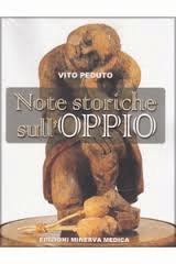 Note storiche sull'oppio nel libro a firma del professor Vito Peduto