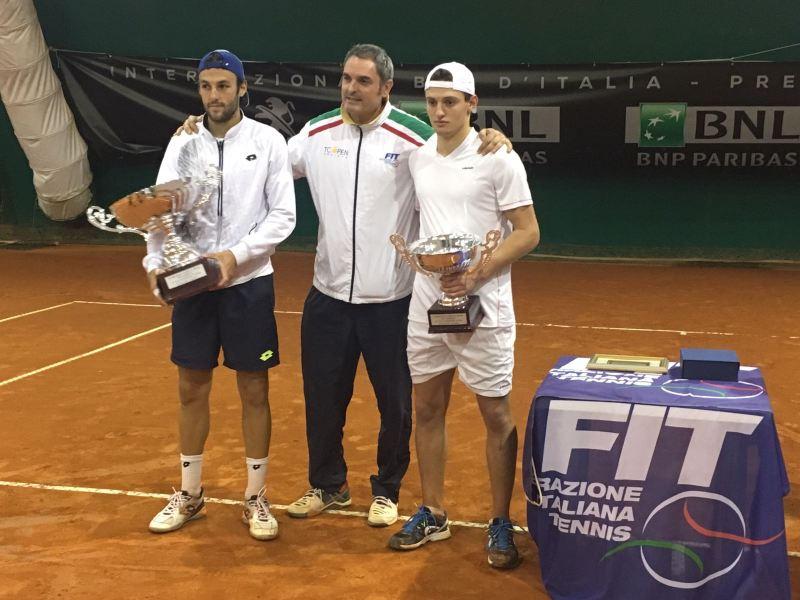 Torneo Bnl prequalificazioni Foro Italico: chiusura col botto al Tc Open