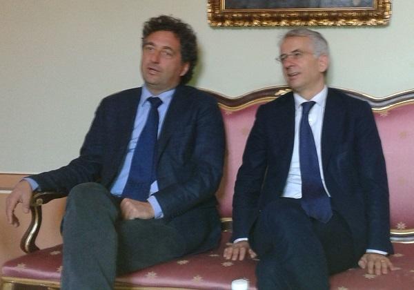 """Carcere di Via Roma, visita del senatore Ferri: """"è un 'ponte' tra la struttura carceraria e la società civile"""""""