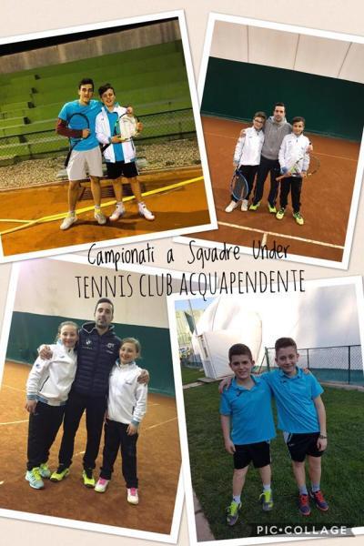 Tennis Club Acquapendente: formazioni giovanili approdano alla fase regionale di Coppa Italia