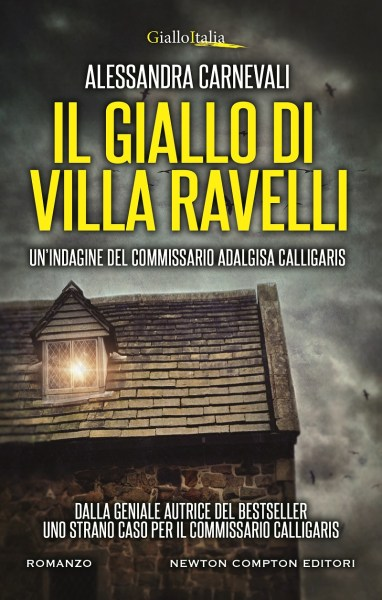 """""""Il giallo di Villa Ravelli"""", ecco il nuovo romanzo di Alessandra Carnevali"""
