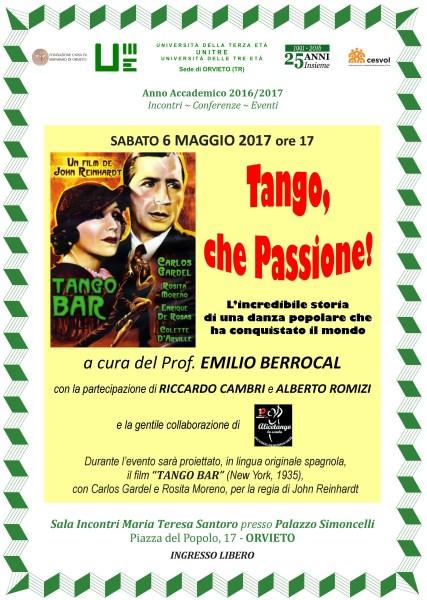 All'Unitre di Orvieto arriva la passione del tango