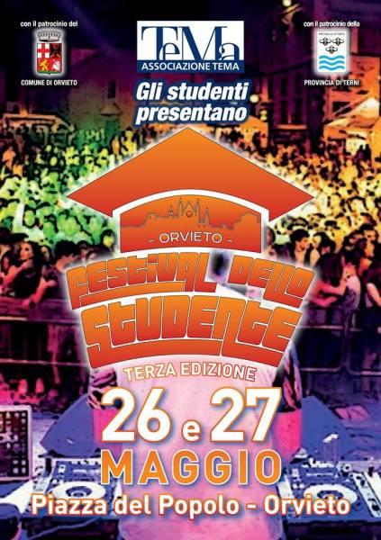 """Divertimento e impegno civile per la 3^ edizione del """"Festival dello Studente"""". Ordinanza di circolazione"""