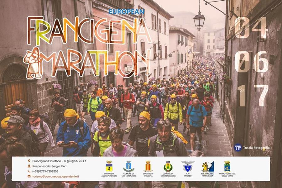 Via con la 5a edizione di Francigena Marathon, iscrizioni entro il 15 maggio