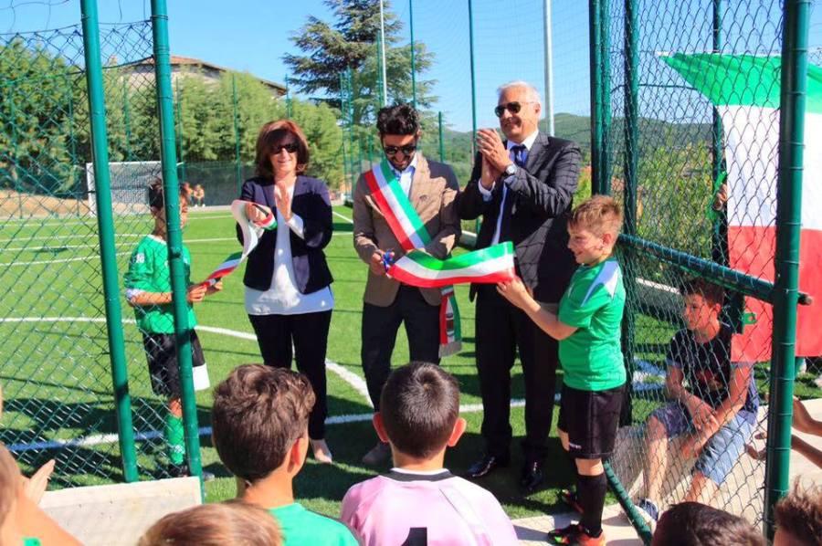 Inaugurato a Montecchio nuovo impianto Calcio a 5