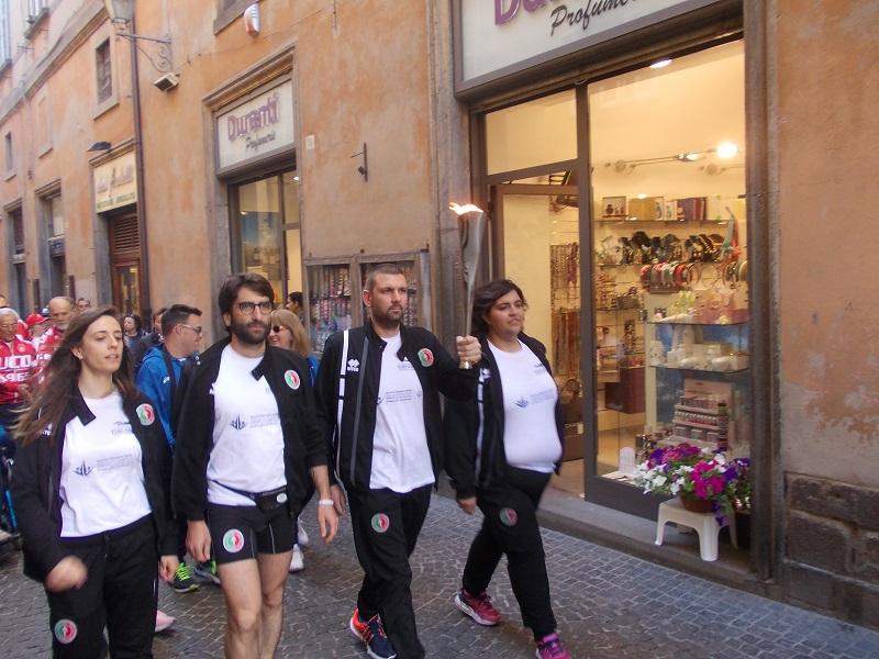 La fiamma della passione sportiva orvietana accende i Giochi Special Olympics 2017