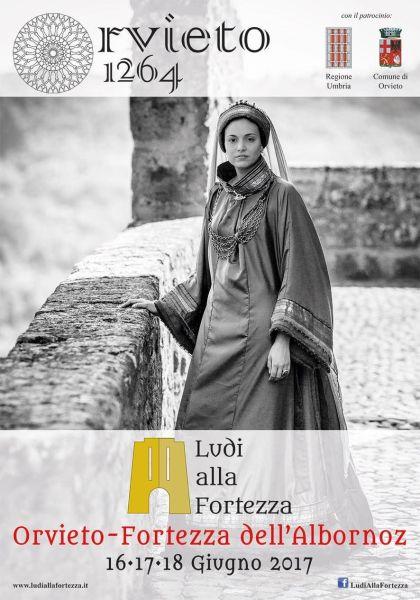 """Orvieto torna indietro nel tempo. Inizia """"Ludi alla Fortezza"""" per rivivere la magnificenza dell'anno 1264"""
