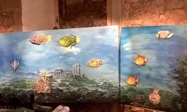 Prosegue Cartapescheria, le opere di Giorgio Pulselli in mostra alla galleria Falzacappa Benci