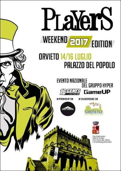 Players Weekend giunge alla sua 5° edizione. Per la prima volta si terrà ad Orvieto