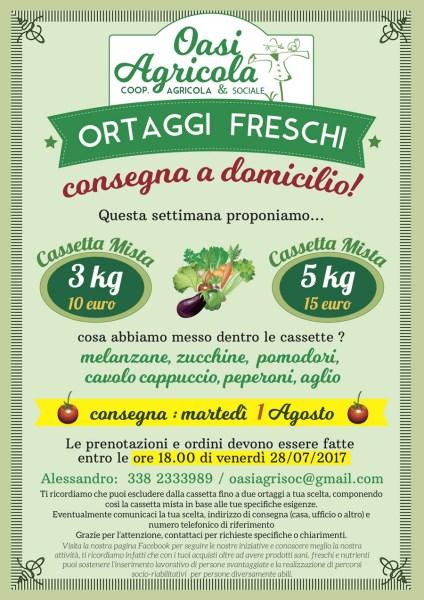 A Orvieto ortaggi freschi a domicilio. Quando la buona agricoltura contribuisce alla buona società