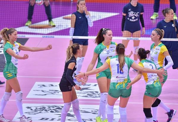 La Zambelli Orvieto gioca di squadra e si afferma a Firenze