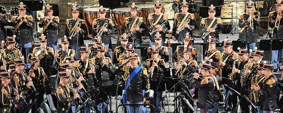 Banda e Fanfara della Polizia di Stato, due concerti in Umbria