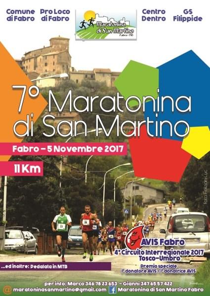 Conto alla rovescia per la VII edizione della Maratonina di Fabro