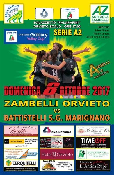 Zambelli Orvieto: curiosità per il debutto al Pala-Papini contro San Giovanni in Marignano