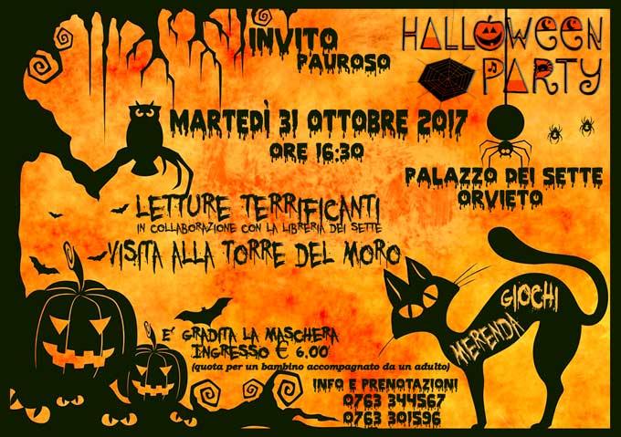 Halloween party al Palazzo dei Sette .. Buona paura a tutti
