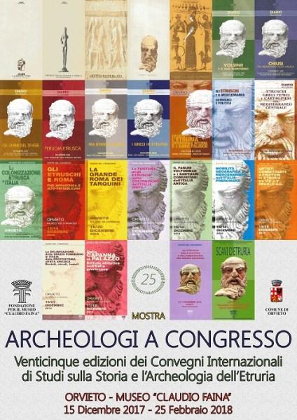 """Anteprima della mostra """"Archeologi a congresso"""" presso il Museo """"Claudio Faina"""""""