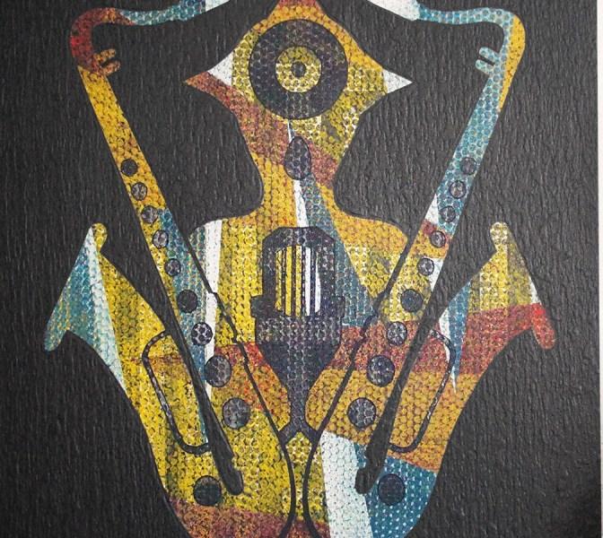 """Due sassofoni, un microfono e un giradischi. Ecco il manifesto ufficiale """"Jazz"""" di Leonardo Passeri"""