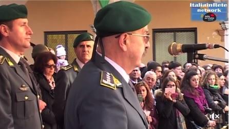 VIDEO – Gdf, premiazione V Corso e consegna basco verde ad honorem al giudice Catello Maresca