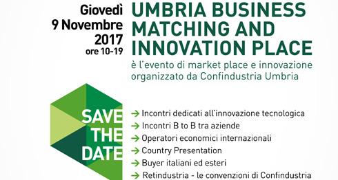 Confindustria Umbria presenta: Umbria Business Matching, a Bastia Umbra giovedì 9 novembre
